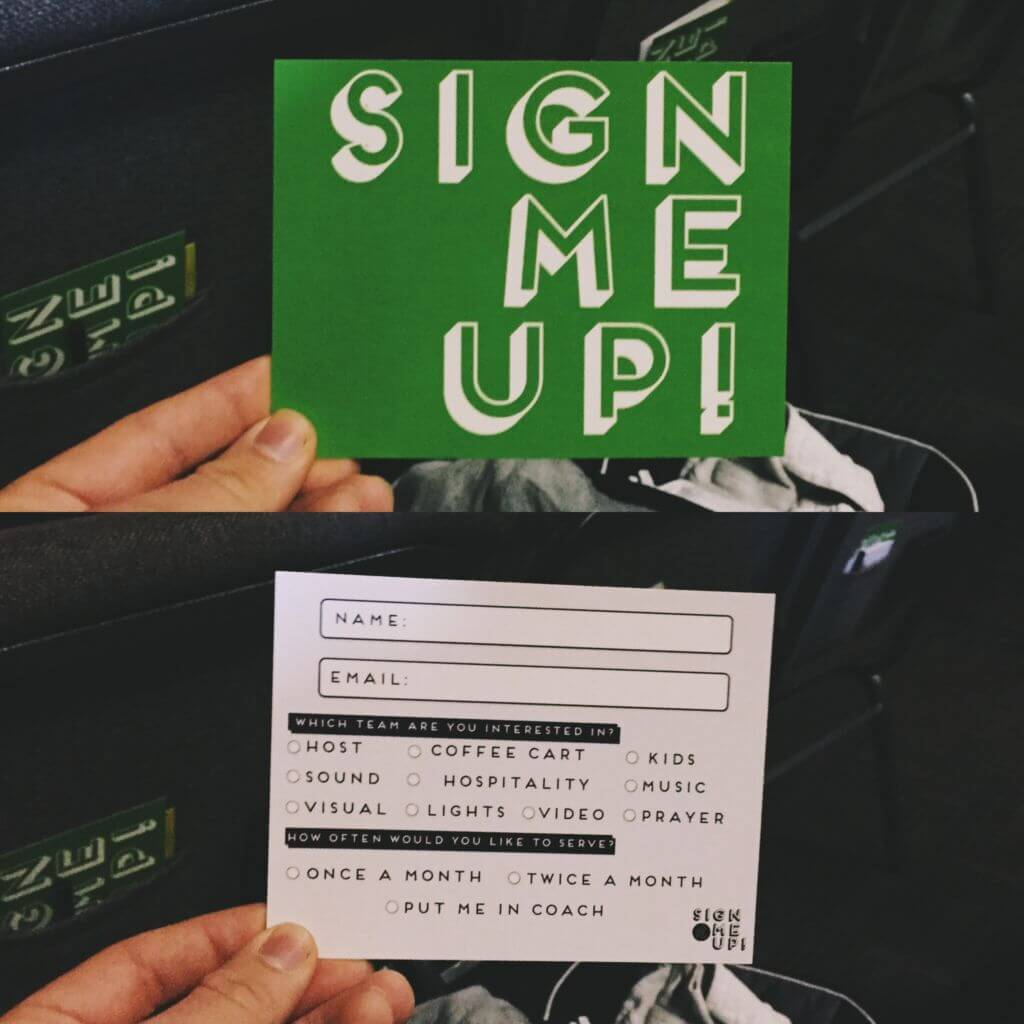 Sign Me Up by Engage City Church