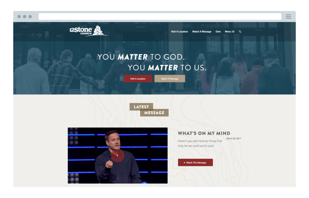 The top 25 best church websites of 2018 pro church tools 12stone church maxwellsz