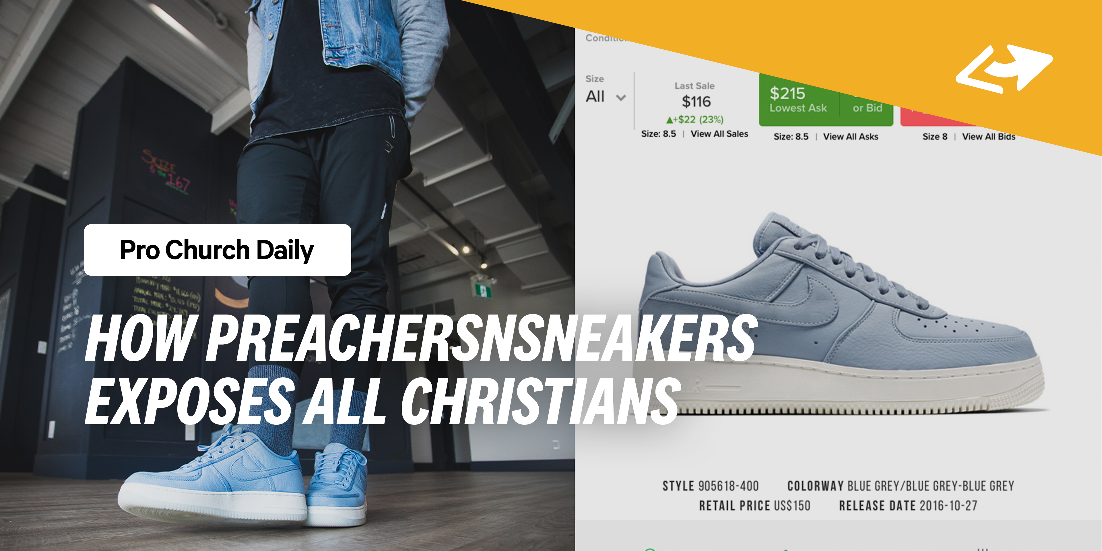 3c190c9e1d4db How PreachersNSneakers Exposes All Christians. A viral Instagram account ...