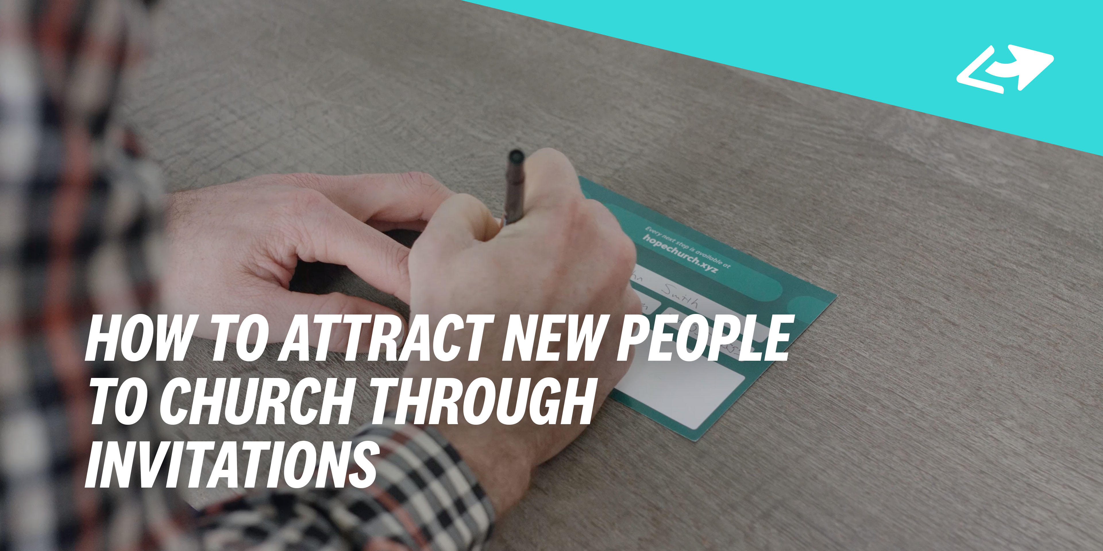 How To Attract New People Church Through Invitations